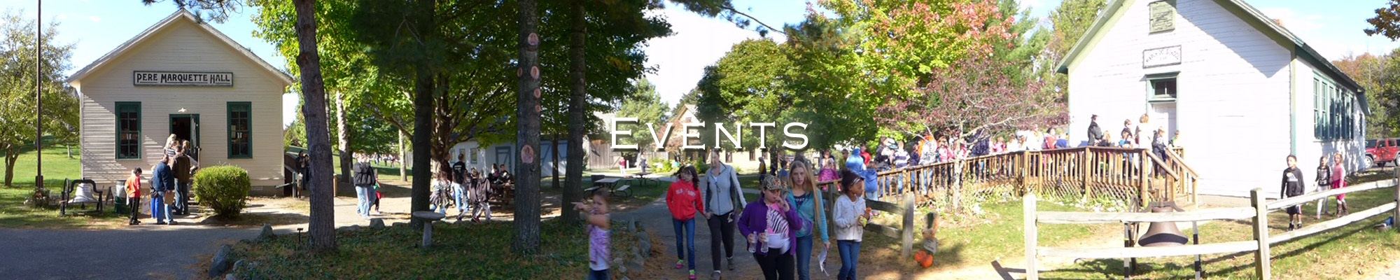 Events & Tours - Historic White Pine Village