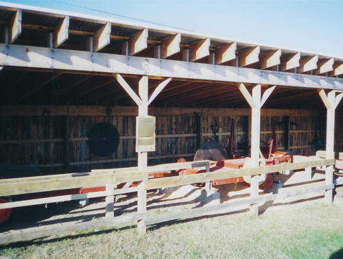 Sawmill Shed - Historic White Pine Village