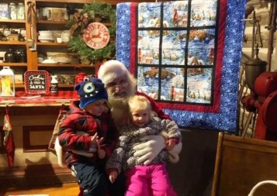 Santa in the General Store